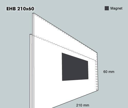 Etiketthållare EHB 210-60F