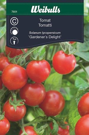 Tomat Körsbärs- 'Gardener's Delight'