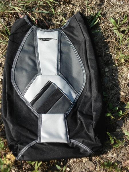 Mini reppu / PdF / musta-harmaa