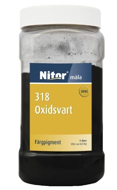 JÄRNOXIDSVART 1L 318 NITOR