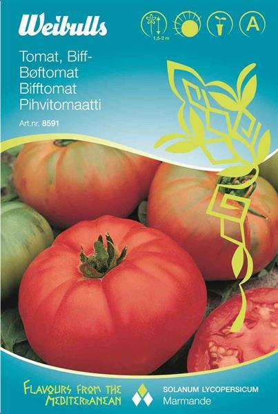 Tomat Biff- 'Marmande' växthus