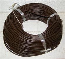 LÄDERBAND m.brun 3mm