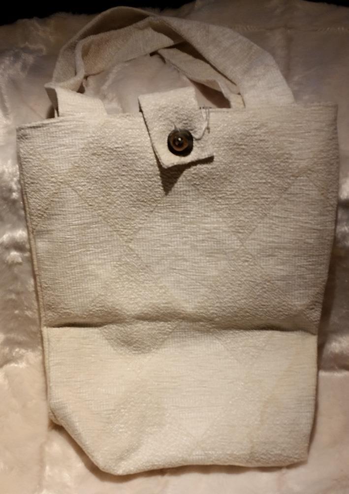 Sydd veske hvit