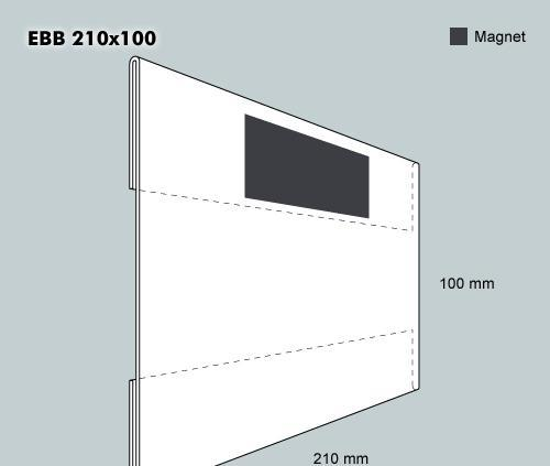 Etiketthållare EBB 210-100F
