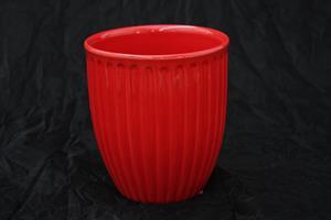 Kruka Antonia D13,5cm röd 6/fp