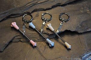 Osamu - Key Ring Mini Baton, Blue