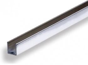 Alu profiler u-profil aluminium