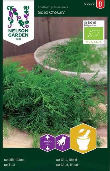 Dill Blad- 'Gold Crown' Organic