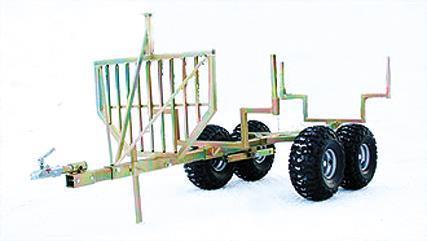 Timmervagn 3 bankar