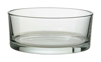 Glasskål cylinder D19cm H8cm 4/fp