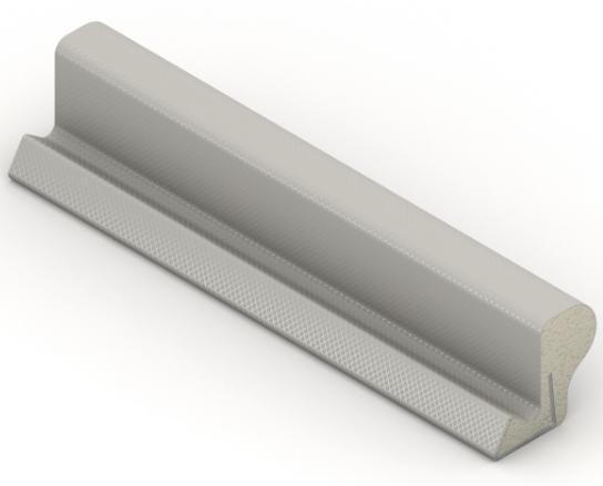 Tetningslist gummilist vindu Q-lon ql silikonlist dør Hadeland Glass Norge Norway