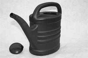 Vattenkanna 10 liter antracitgrå med stril