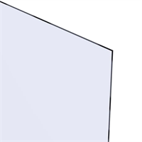 Akrylglass 4,0x300x300 mm - Klar