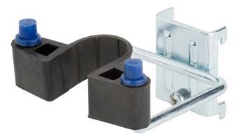 Dubbelkrok gummiklämma 25x40 mm, 2-pack