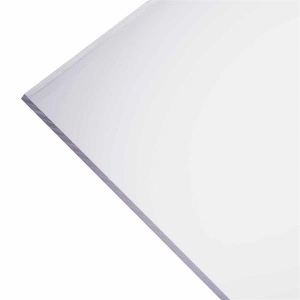 Lexan / Polykarbonat 4,0x300x300 mm - Klar