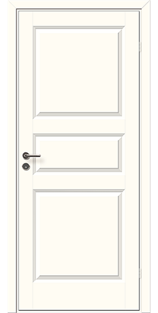 Innerdörr ID 7-9x20-21 Singö Lätt 3-spegel Vitm 895.00 kr (ord. pris 1108.00 kr)