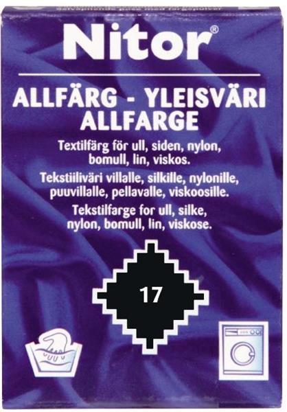 ALLFÄRG  17 SVART NITOR