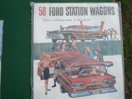 Ford 1958 Station Wagons