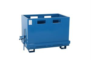 Bottentömmande container. 700L