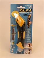Olfa Brytkniv 18mm X-Design, wheel lock, L-5