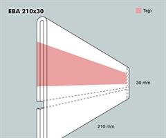 Etiketthållare EBA 210-30F