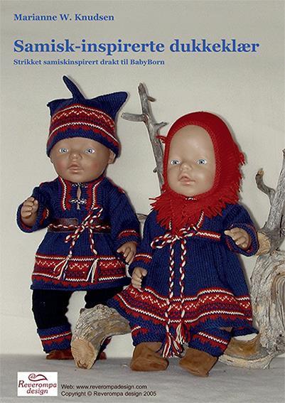 Samiskinspirert dukkeklær til BabyBorn