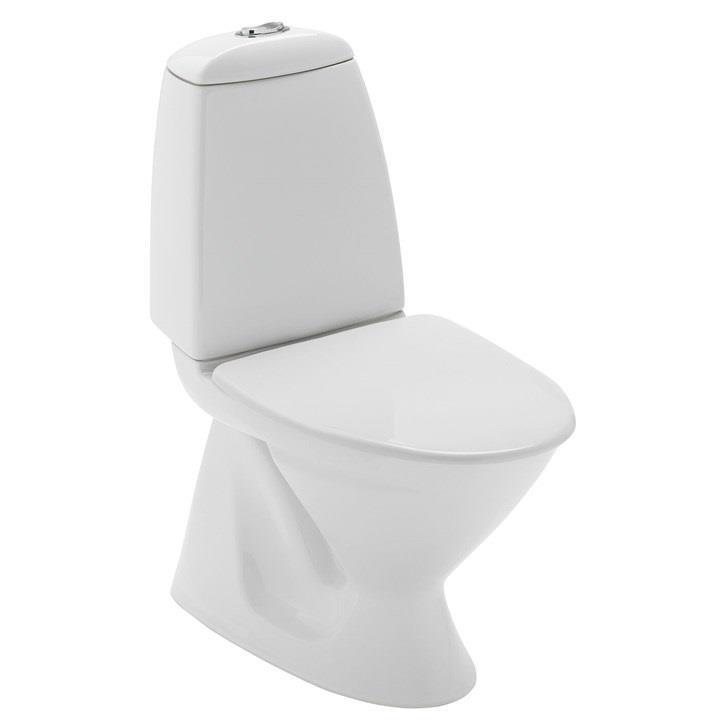 Toalett gulvstående vegghengt toalettsete trykknapp Brandbu Hadeland Glass & Vaktmesterservice