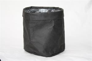 Kruka papper svart D20cm