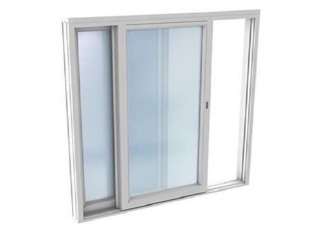 Skyvedør skyvevindu glass glasskyvedør halvuisolert isolert spesialmål billig Hadeland Glass Brandbu
