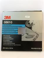 3M Tätningsband Butyl Svart 6mm x 4,5m 08610