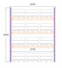Startsektion h:3500 b:2750 mm 3 nivåer