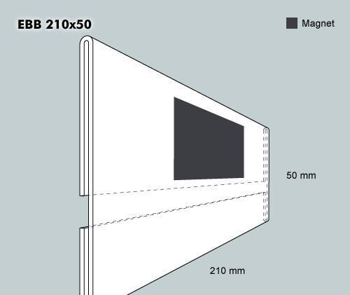 Etiketthållare EBB 210-50F