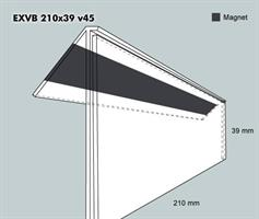 Etiketth. EXVB 210-39F 45V mag