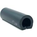 Fenderlist 20/30x30 mm Sort PVC - Løpemeter