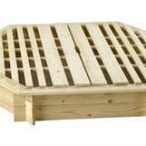Sandlåda 6-kantig med lock 150x150 1389.00 kr/st