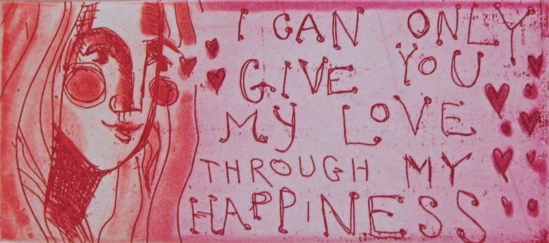"""""""I can only give you my love..."""""""
