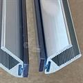 Magnetlist 90 gr.hjørneprofil metall - 1 par