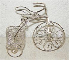 CYKEL metall silver