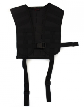 NP PMC MOLLE HARNESS - BLACK