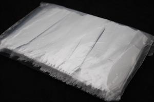Etikett stick plast vit 1,8x12 cm 500/fp