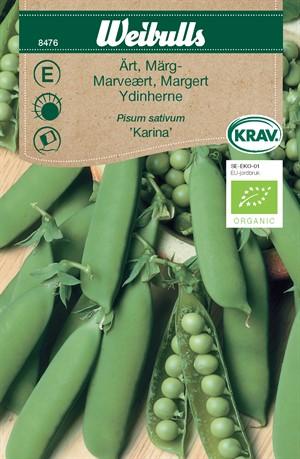 Ärt Märg- 'Karina' KRAV Organic