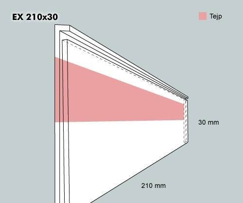Etiketthållare EX 210-30F