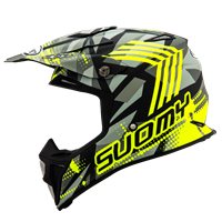SUOMY MX SPEED - Sergeant M Grey/Yellow