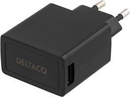 USB-Laddare 230V 2.1A Svart