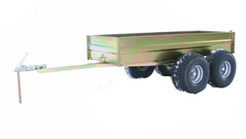 ATV-Boogievagn med tipp