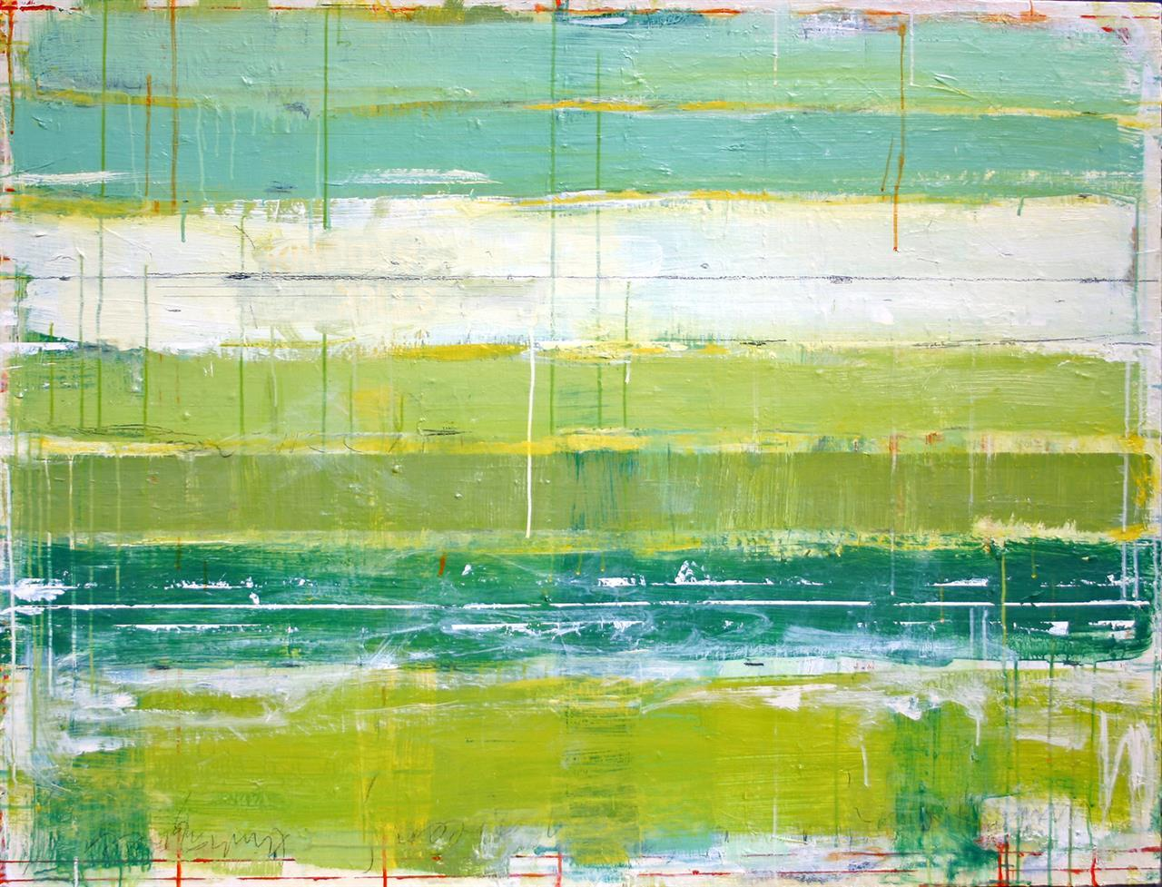 THINKING GREEN 100x130cm 2009