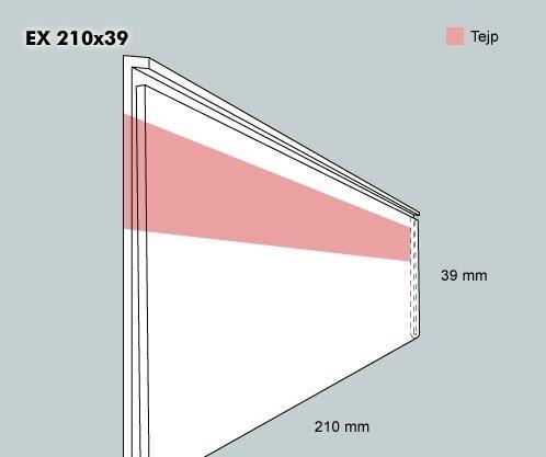 Etiketthållare EX 210-39F