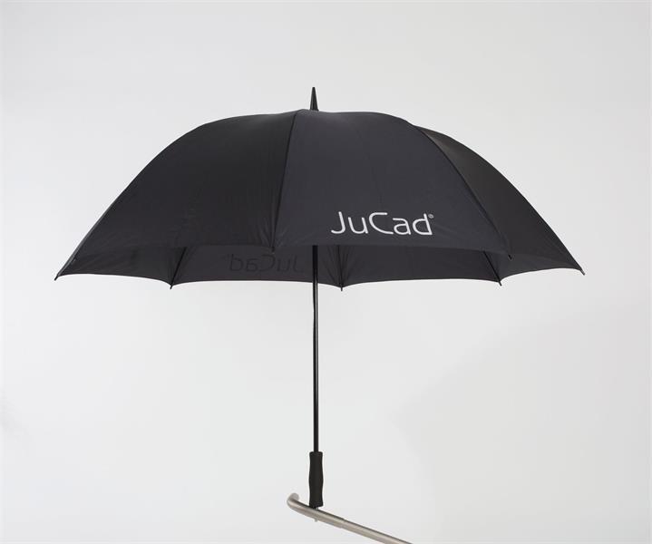 JuCad Golfparaply inkl. Titaniumpigg, Svart
