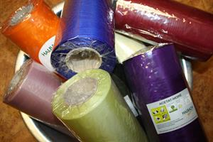 Kransband 20 cm olika färger från Halbach