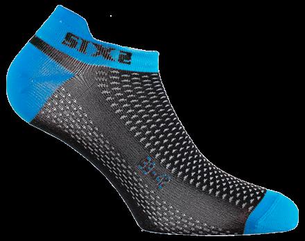SIXS - No-Show Socks - Blue